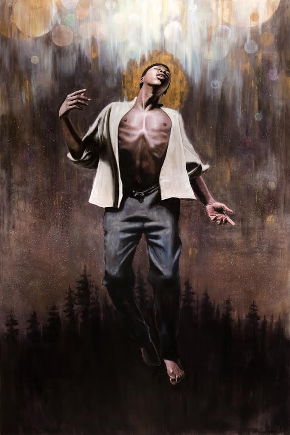"""Imago Dei""  48""x72"" oil on panel"