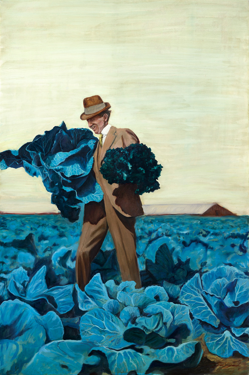 """Bountiful Harvest""  24""x36"" oil on canvas SOLD"