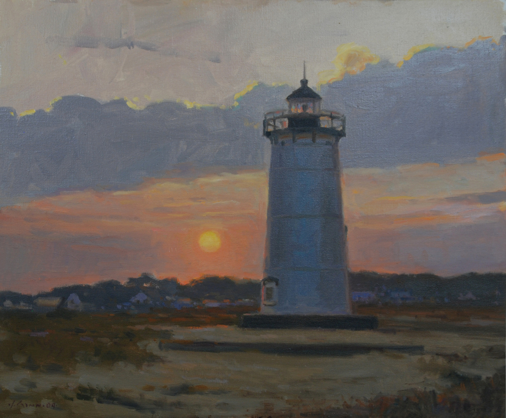 Evening Light, Oil on linen, 20x24 inches. [sold]