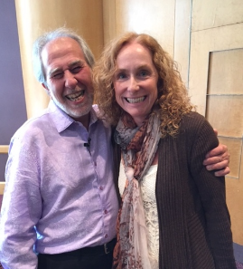 With  Bruce Lipton at the Matrix Reimprinting Conference in Birmingham, England