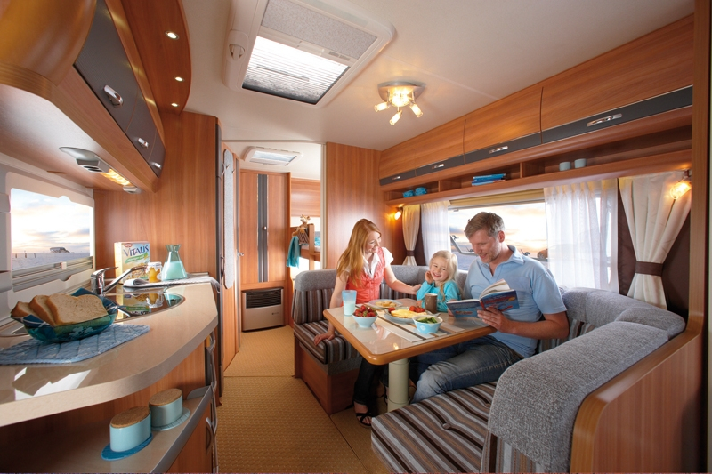 Lej en luksus campingvogn