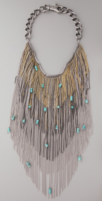 Southwestern Hippie Fringe Necklace from  Desert Living Today