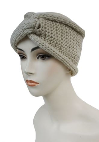 Knit headband, available in more colors.