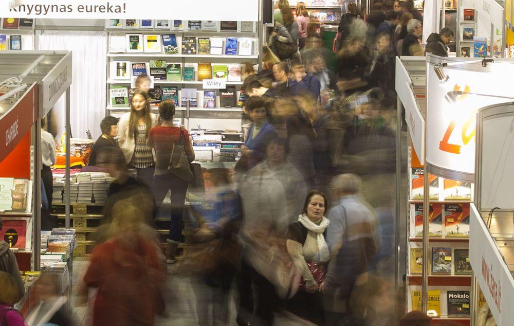 Tarptautinės Vilniaus knygų mugės organizatorių nuotr.