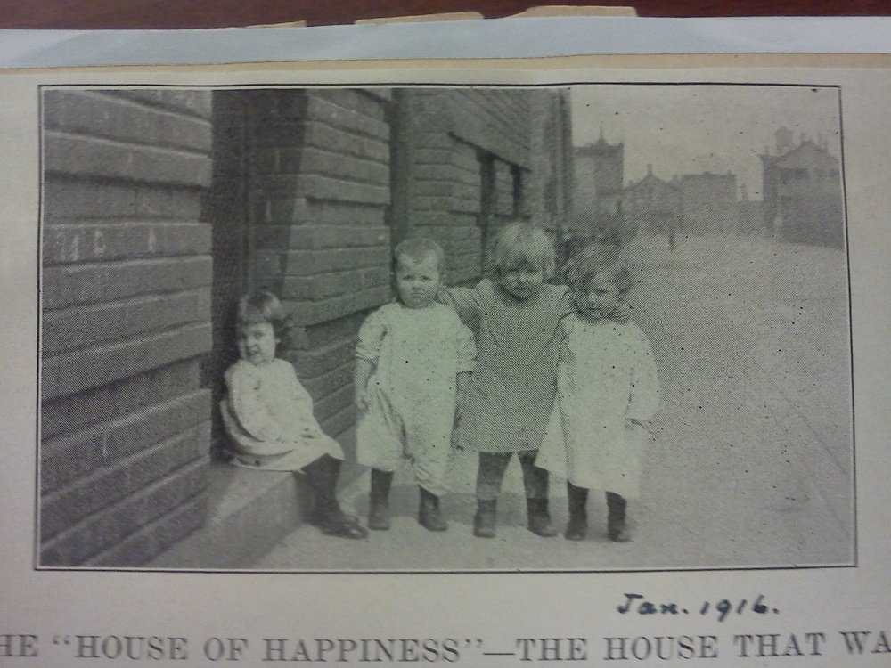 The House of Happiness, January 1916