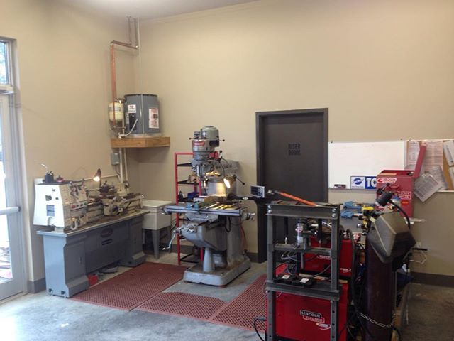 Bicycles Unlimited has just installed an in house machine shop!