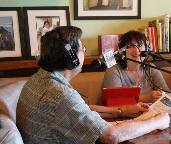 My food writing led to a new outlet: radio. I co-hosted San Diego Gourmet and Wine and Dine San Diego for several years. I now appear regularly on KPBS radio's Midday Edition.