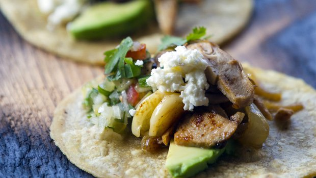 The Red Door's Rabbit Street Tacos (photo by Edward Contreras of U-T San Diego)