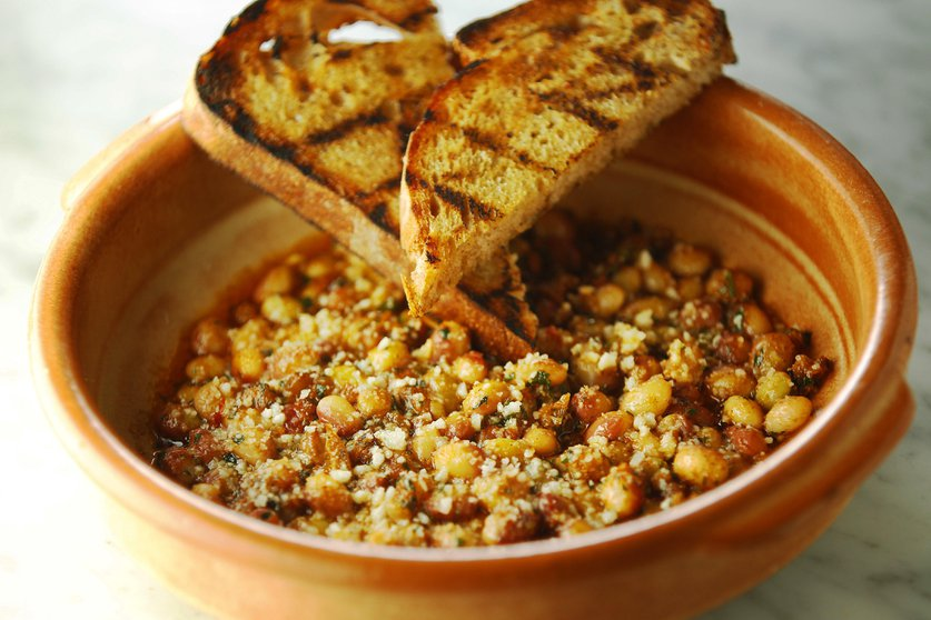 Beans and Harissa photographed by K.C. Alfred for The San Diego Union-Tribune
