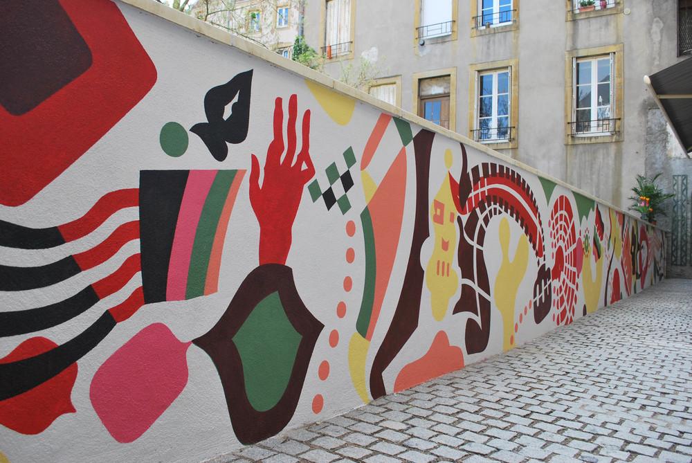 Metz Mural