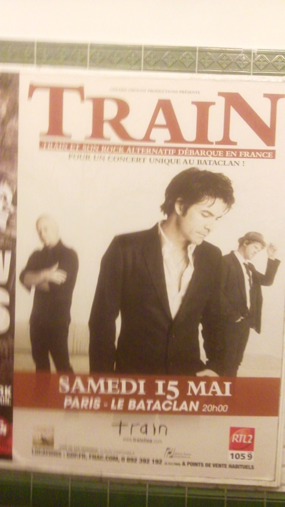 Train in Paris - May 15, 2010