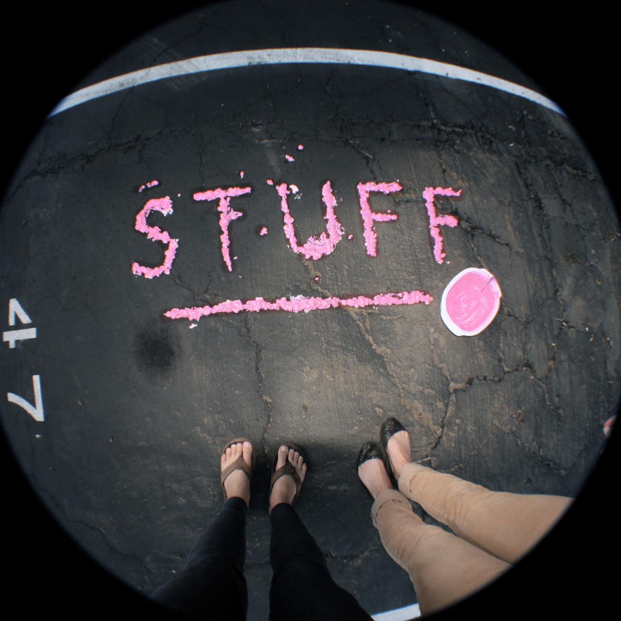 A PINK STUFF HAPPENING   w/ Claire Dierksen