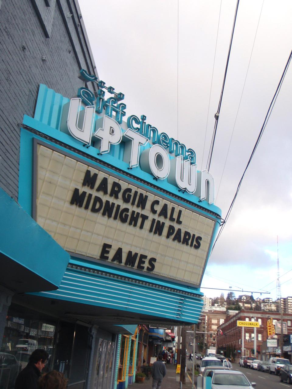 Rad looking cinema in Seattle.