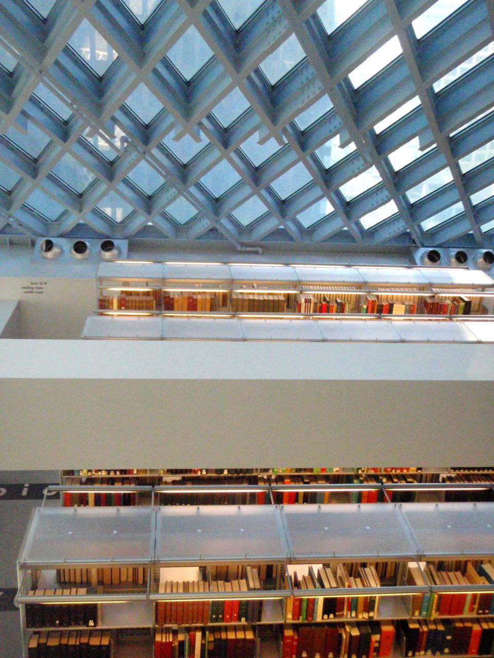 Inside the Seattle Public Library