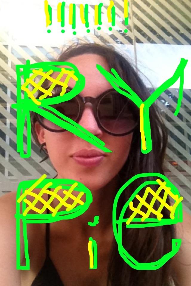 Snapchat + Lettering = Endless Amusement