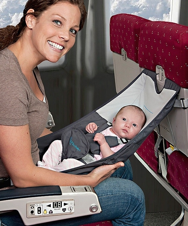 Infant Airplane Seat - Flyebaby Airplane Baby Comfort System - Air Travel with Baby Made Easy by FlyeBaby