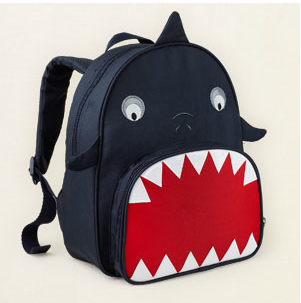 Shark backpacks by the Children's Place