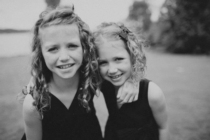 Luckily we have made it through most of the rough patches, and these two are great friends (my daughters Esther and Ellie).