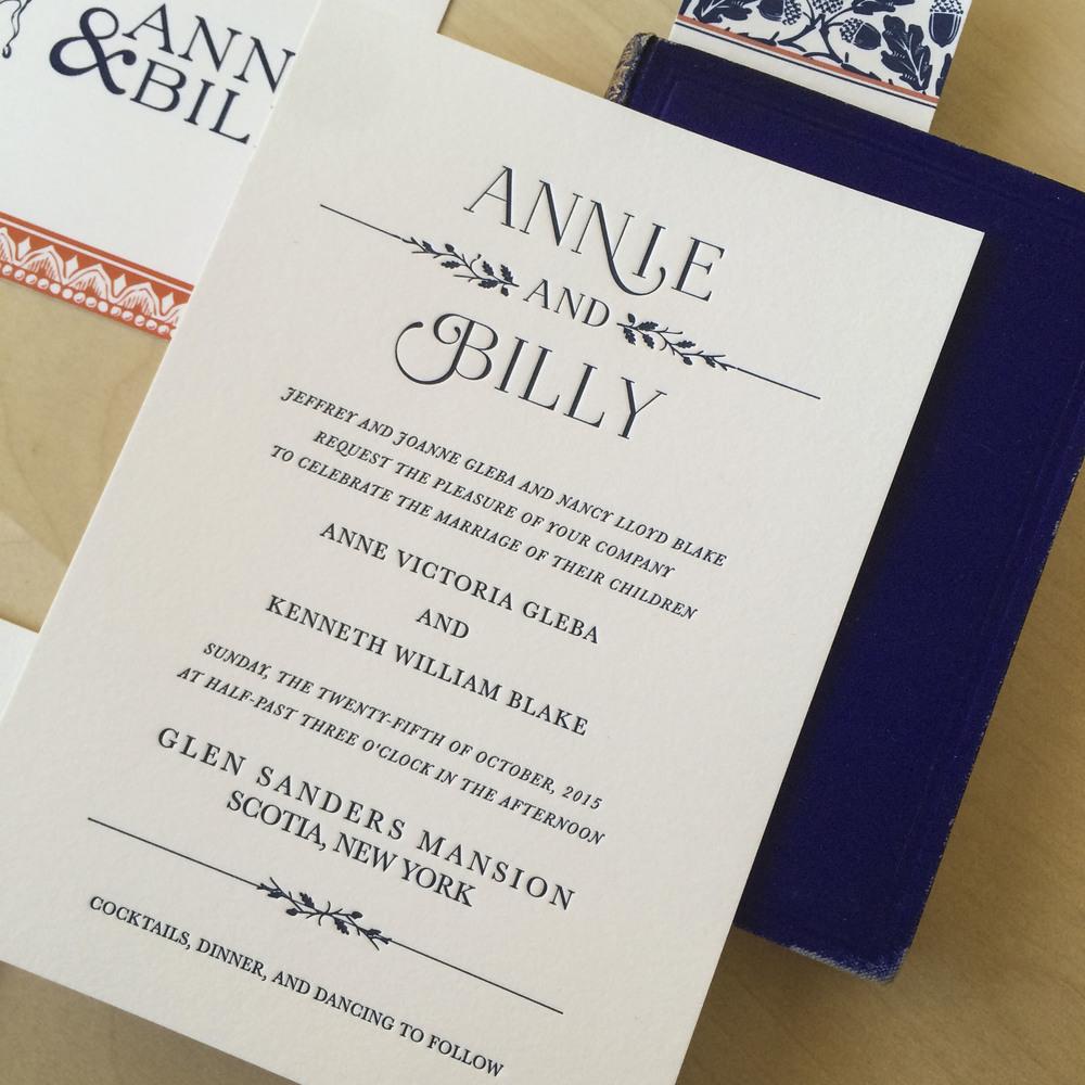ANNIE & BILLY — Robinson Press