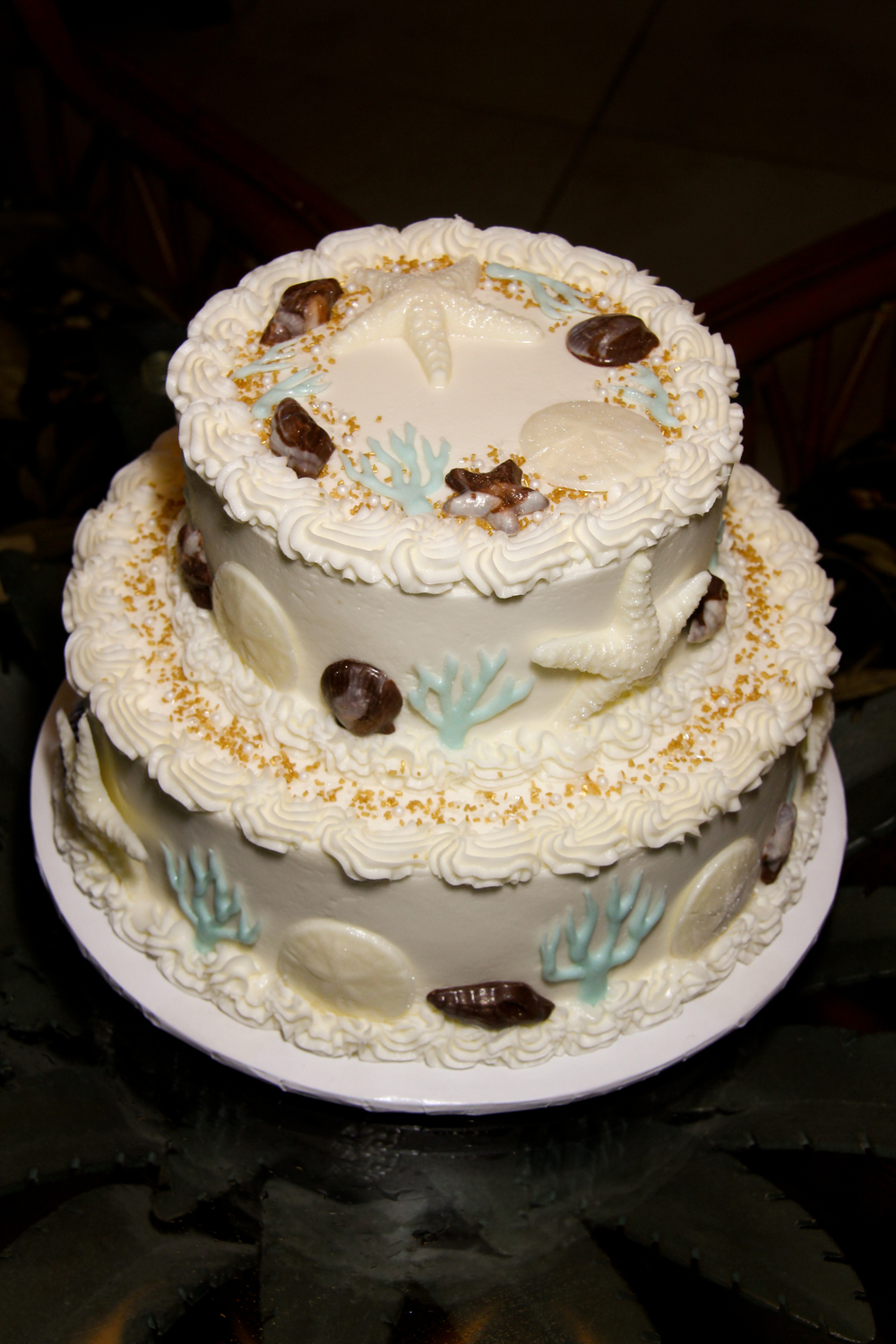 Best Beach Wedding Cake Tybee Island, Hilton Head, Folly beach affordable wedding packages