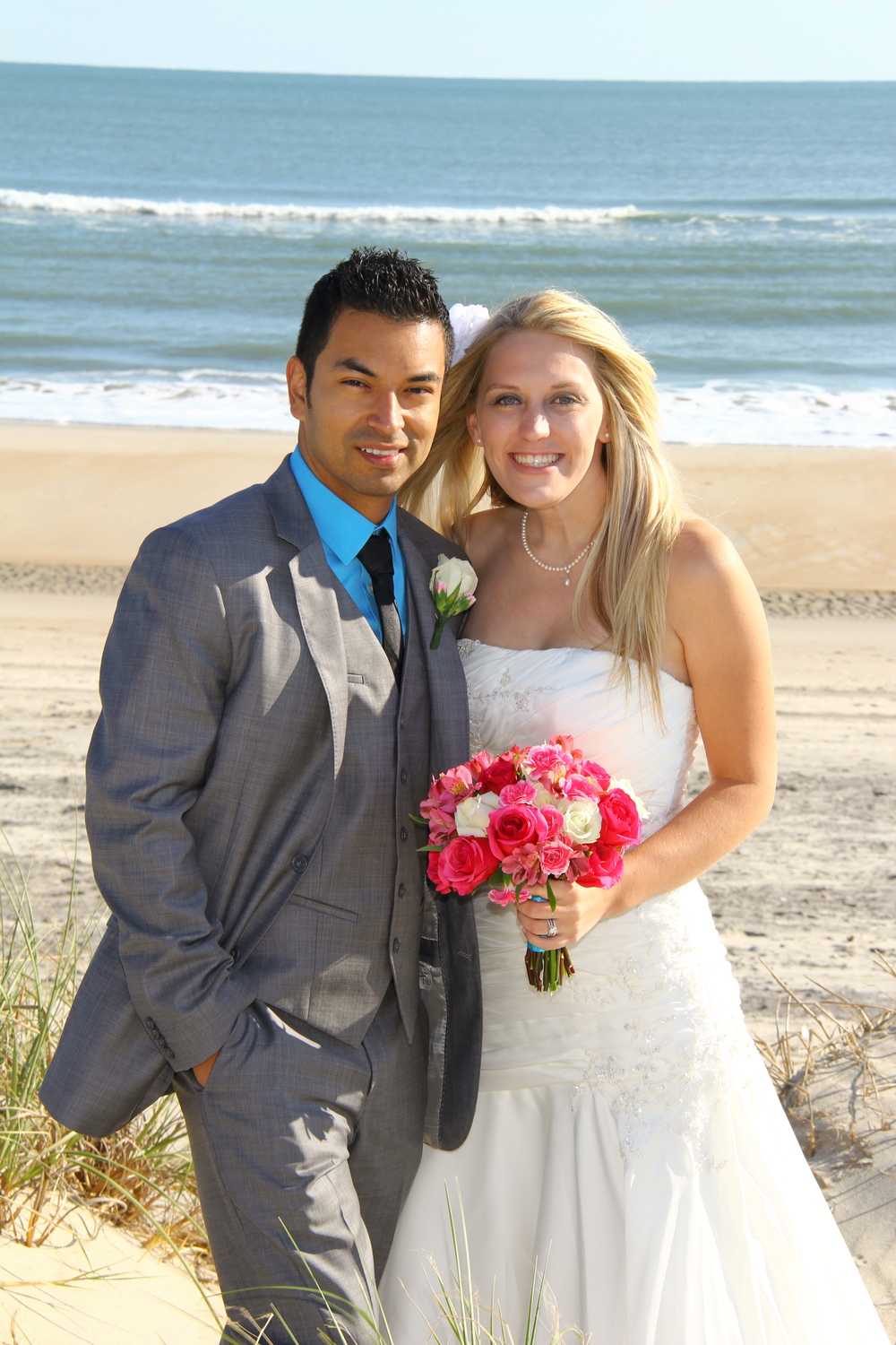 Outer Banks, NC Beach Wedding Ocracoke Island