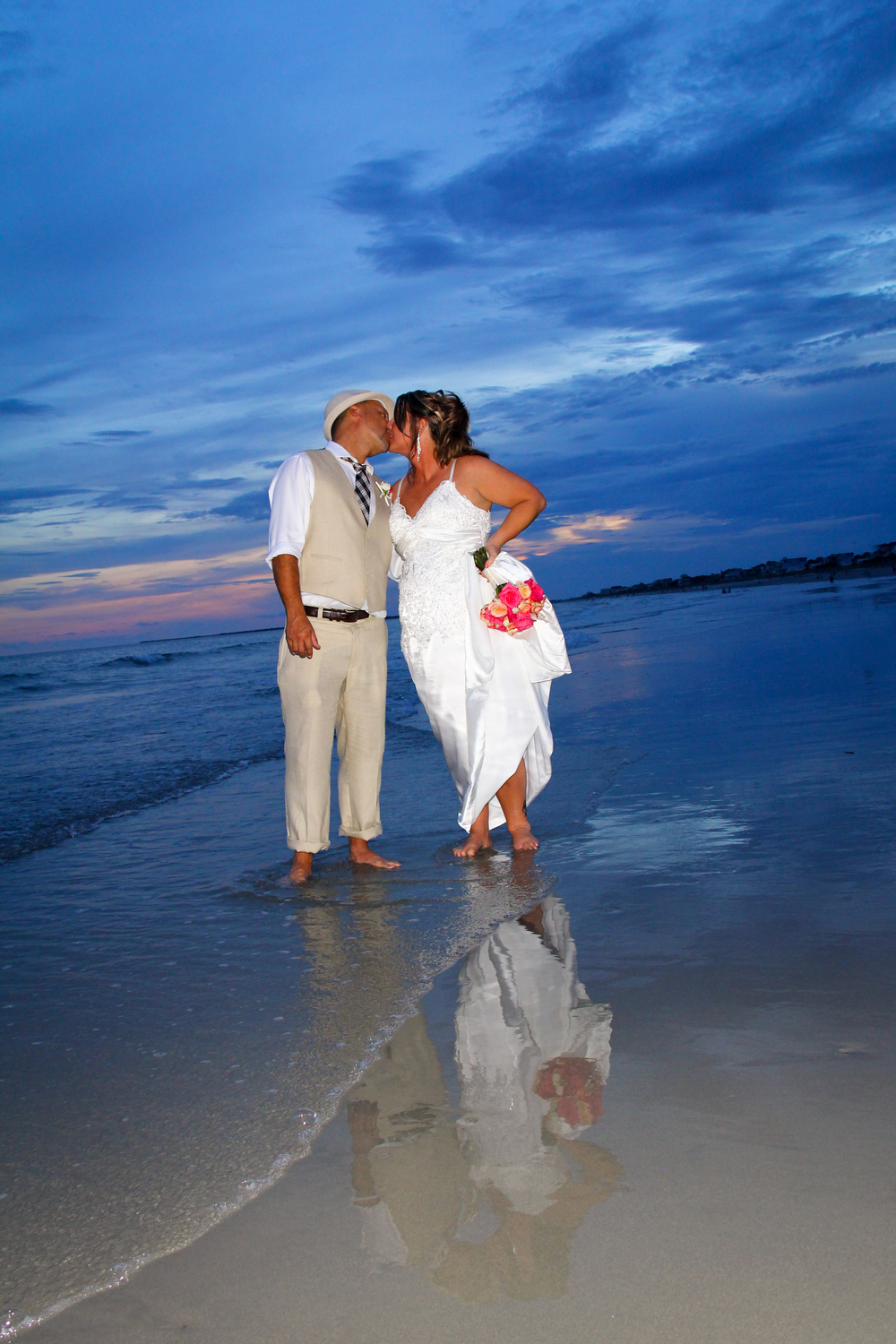 Beach Wedding Folly Beach Charleston SC The Tides