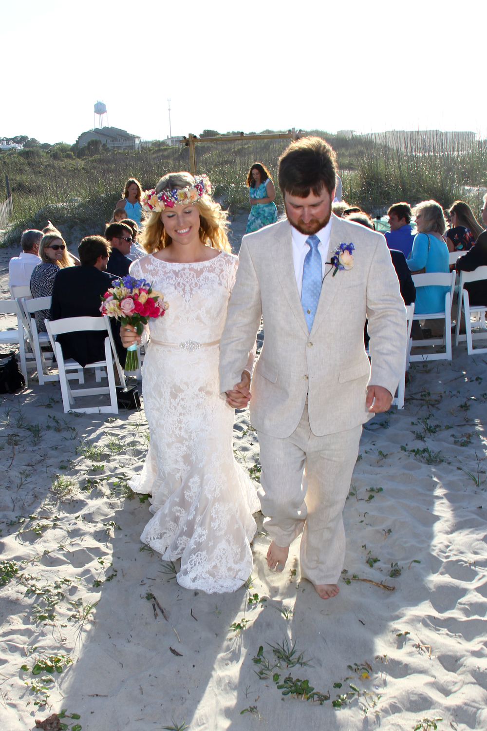 Beach Wedding Tybee Island Georgia