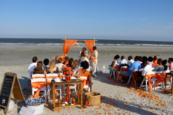 Hilton Head Island SC beach weddings