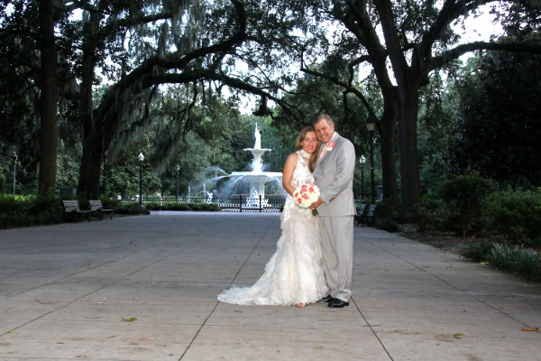 Forsyth Park Savannah Georgia Wedding