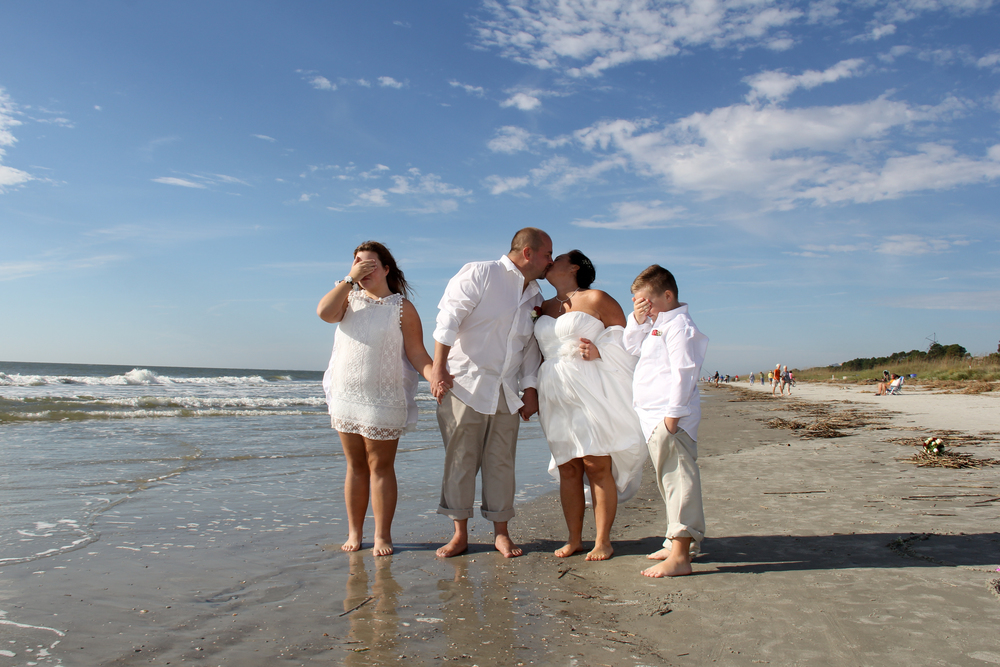 Family Wedding Hilton Head SC Beach