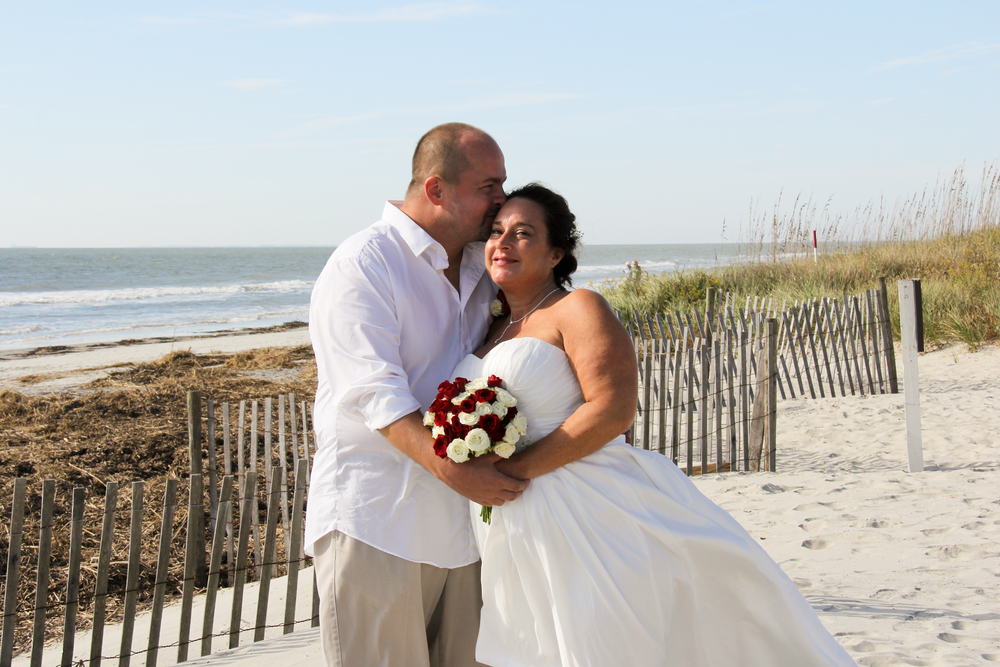 Hilton Head SC Beach Wedding Vow Renewal Ceremony