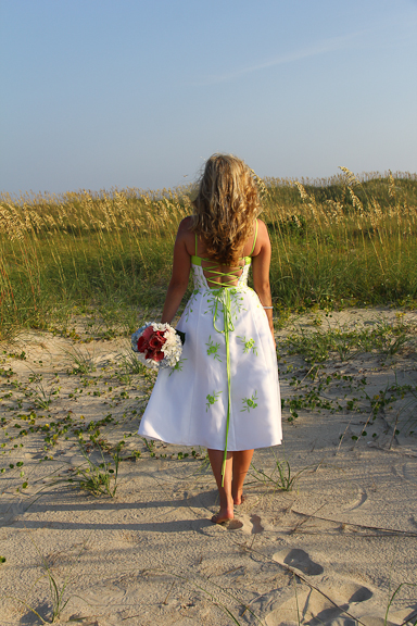 Beach Wedding Bride SC GA Elope
