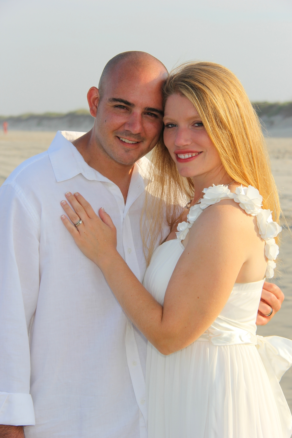 beach wedding Tybee Hilton Head