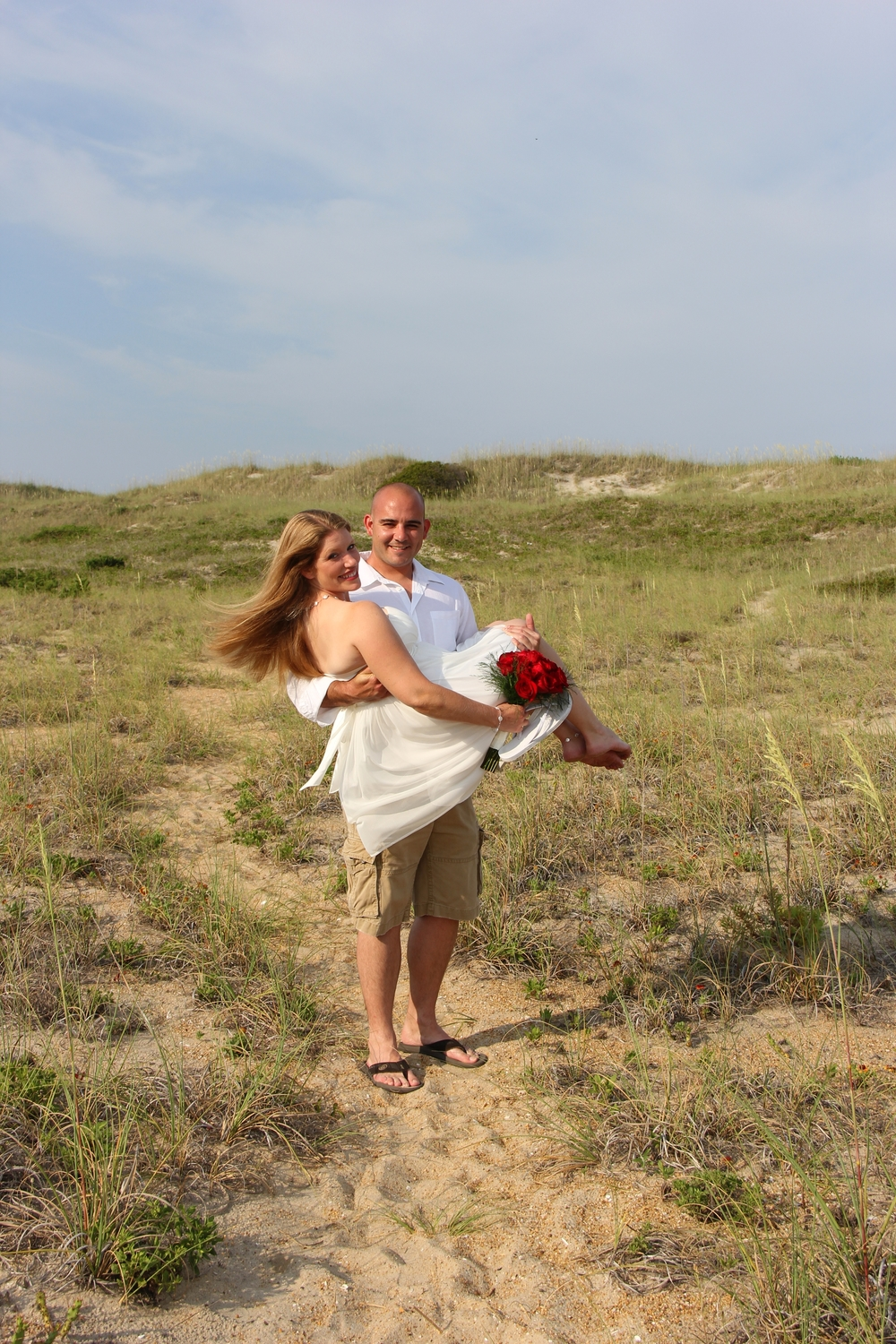 Hattaras Island wedding NC Beach Wedding