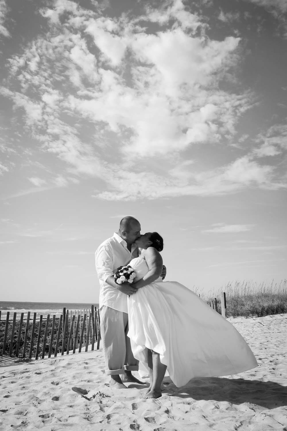 Vow Renewal Cermony on the beach Hilton Head Island, SC