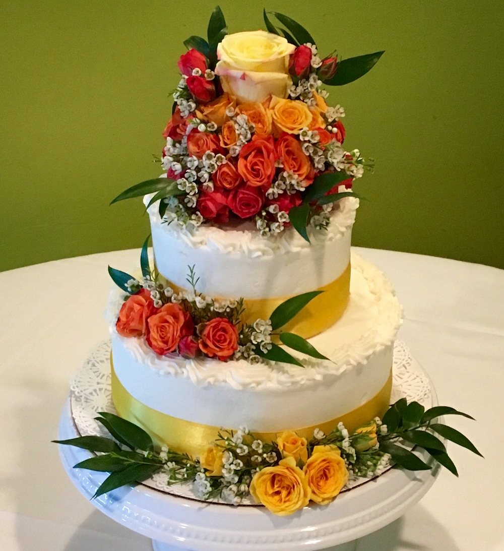 Hilton Head Wedding cake