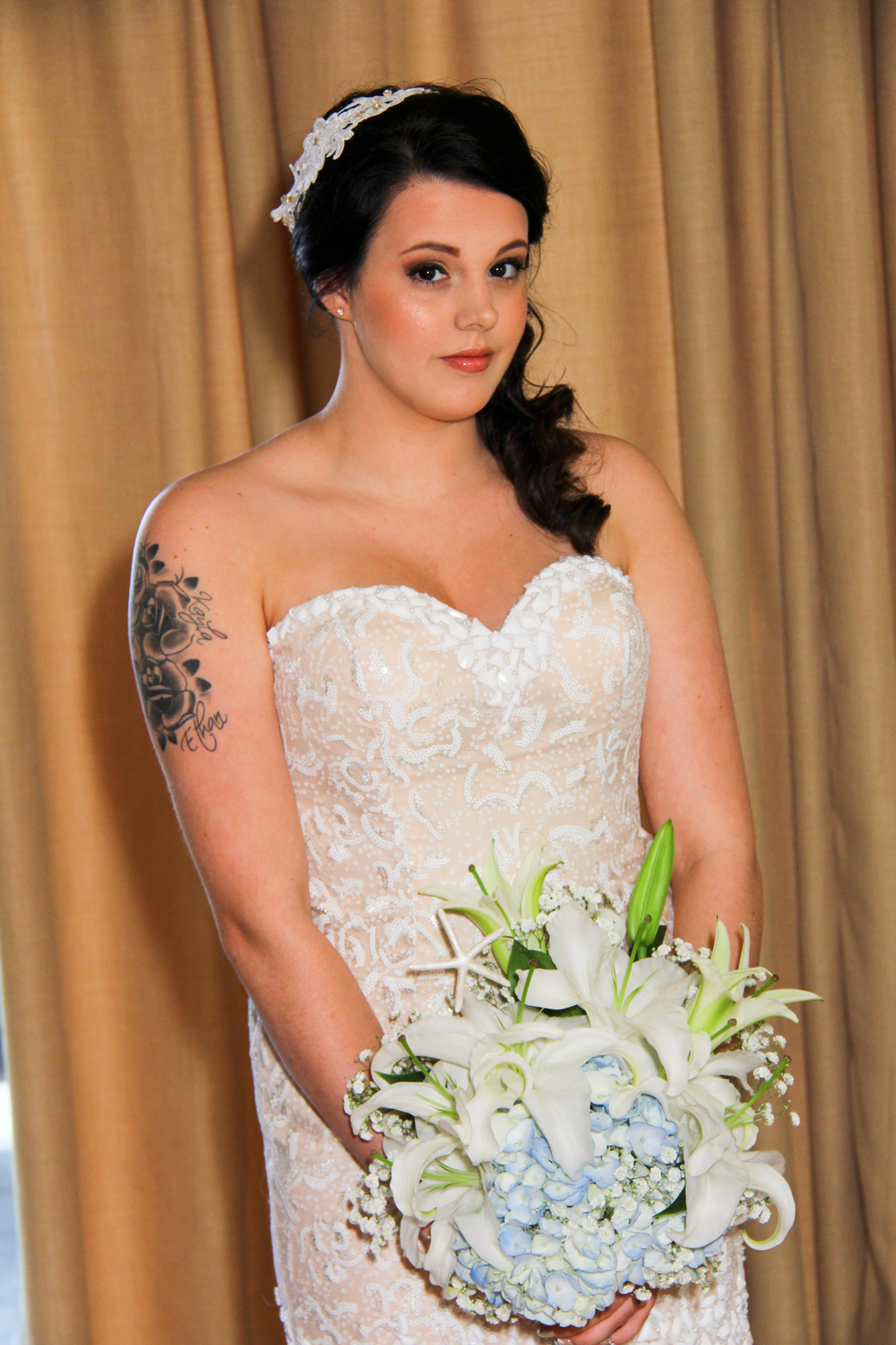 Tybee Island Wedding bride