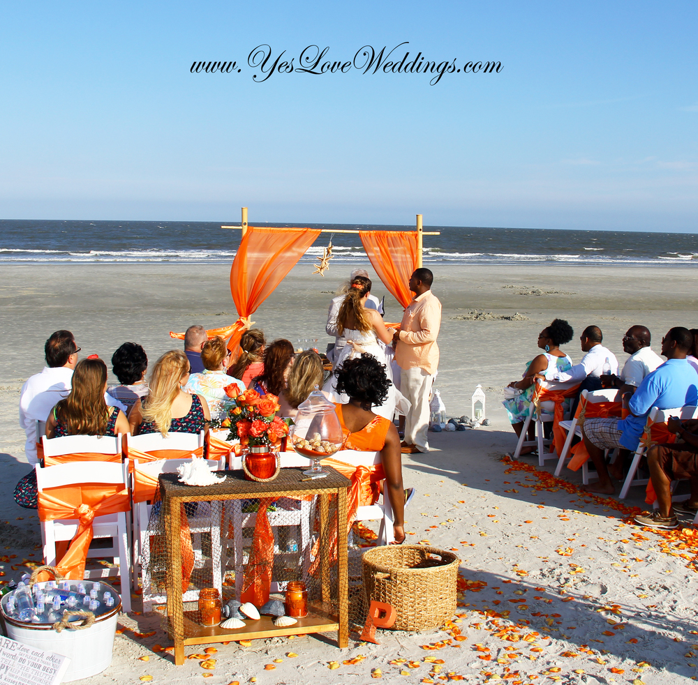 Hilton Head beach wedding
