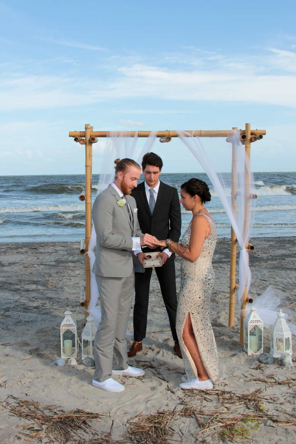 Folly Beach Charleston wedding