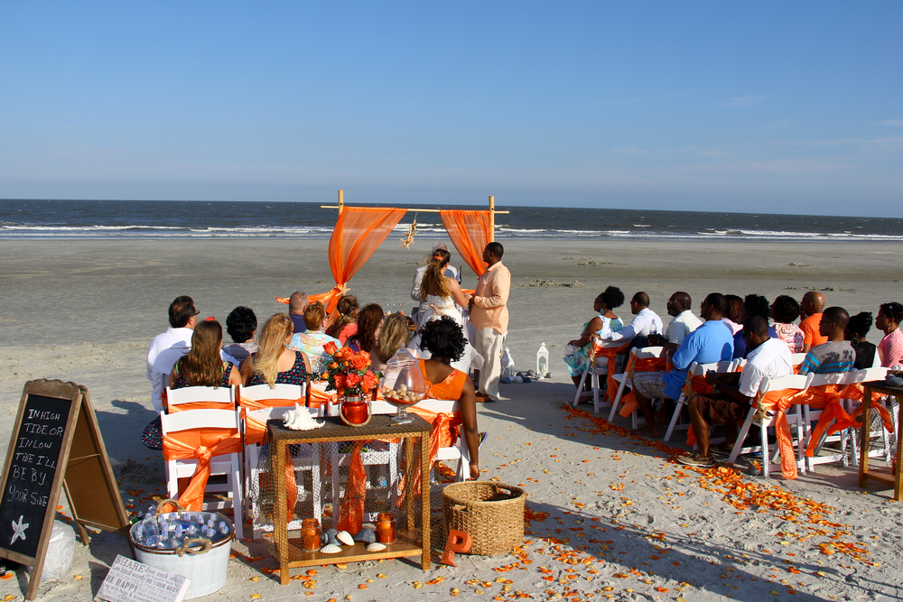 Beach Wedding Hilton Head SC