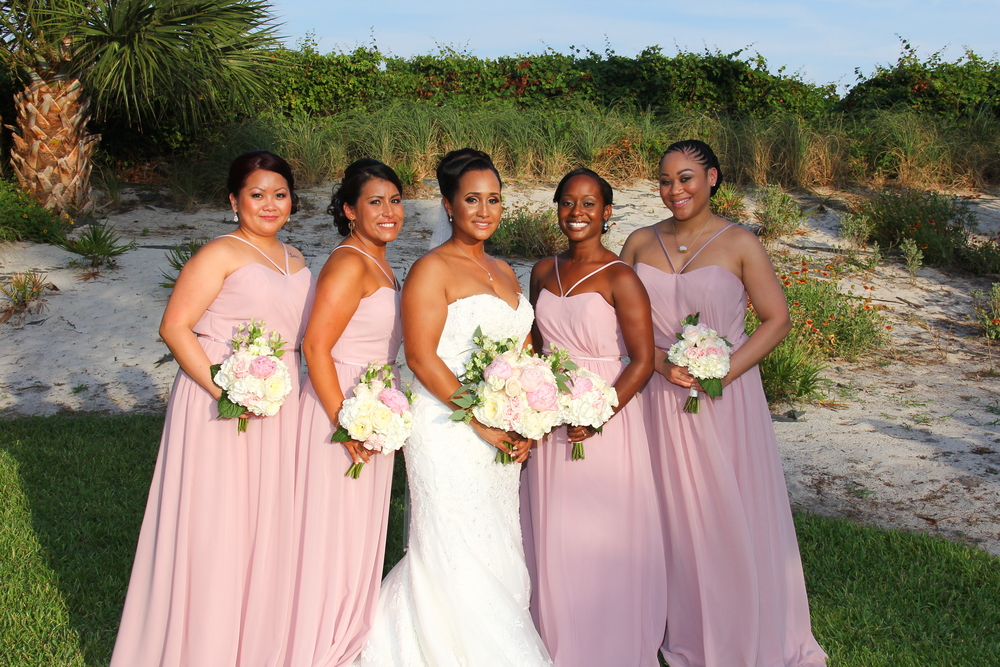 Wedding flowers pink Peony