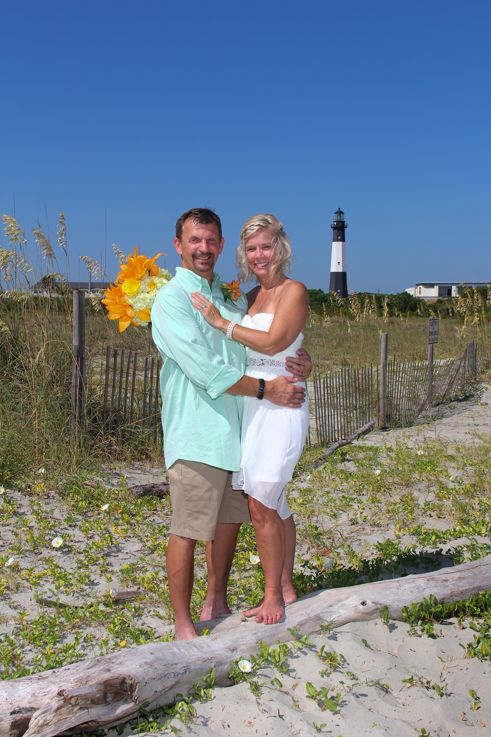Tybee ISland Elopement Wedding