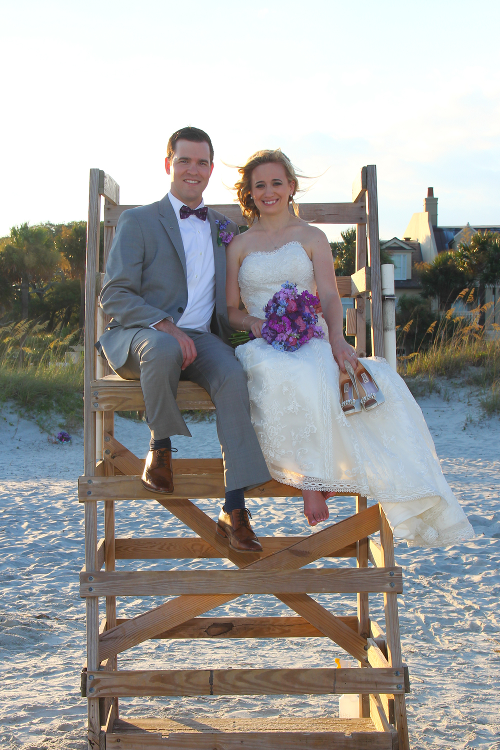 Beach wedding Hilton Head Island SC