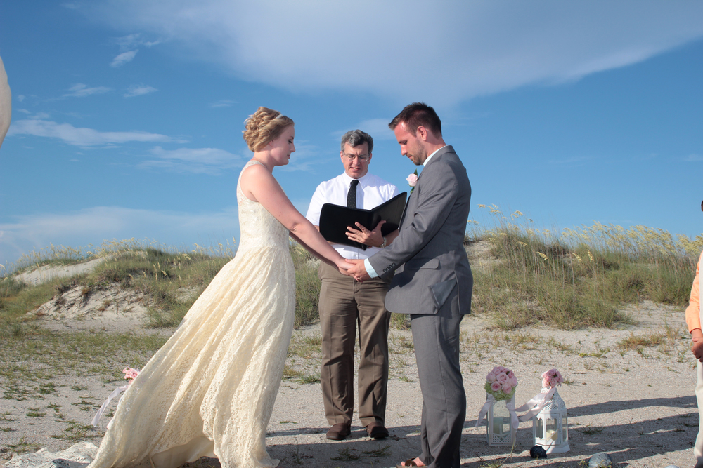 Tybee Island, GA, Beach Wedding