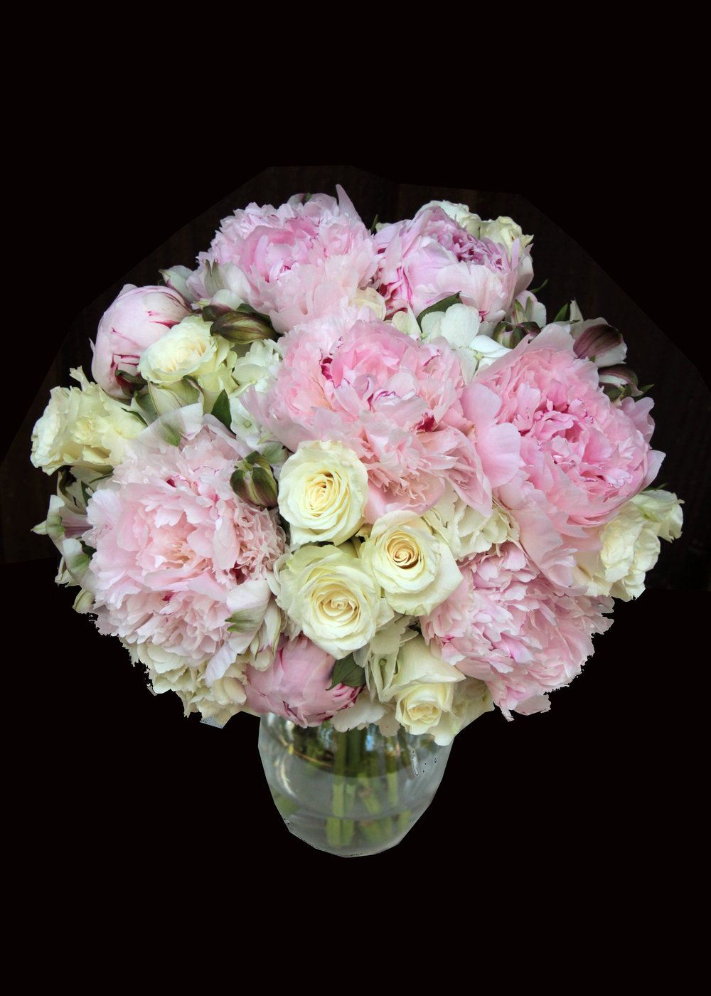 Peony brides bouquet in Blush & ivory