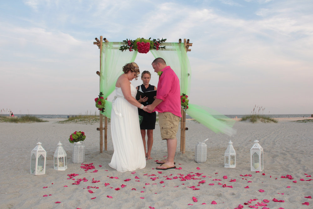 Hilton Head beach wedding, wedding packages, wedding flowers