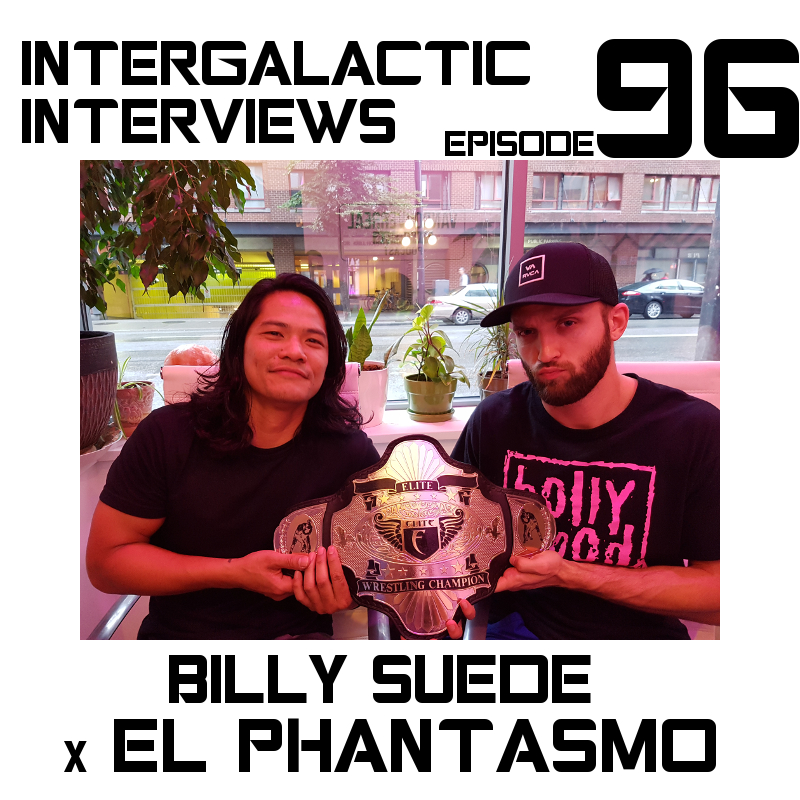 beautiful billy suede el phantasmo ECCW episode 96 intergalactic interviews