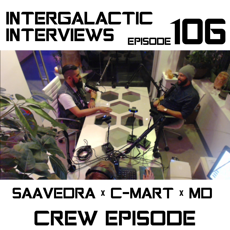 intergalactic interviews crew episode 107 jayme mcdonald md of the boomsday alliance saavedra c-mart 2016