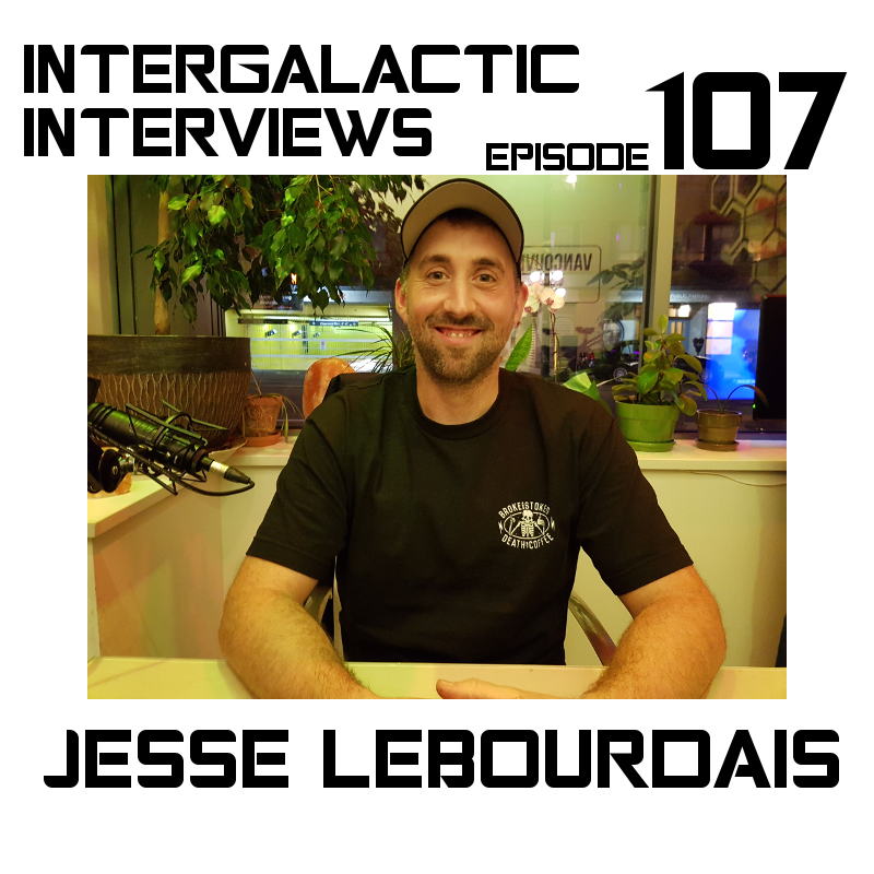 intergalactic interviews jesse lebourdais episode 107 2016 music tour