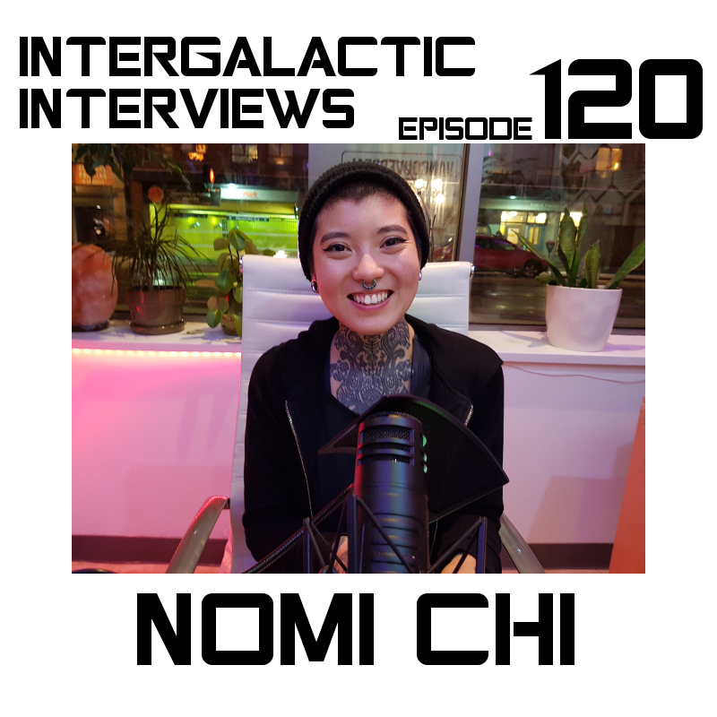 nomi chi intergalactic interviews podcast episode 120 md of the boomsday alliance jayme mcdonald 2017